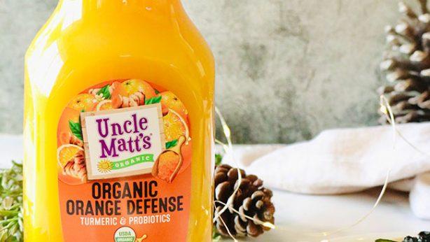 Orange Defense Pana Cotta