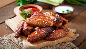 Uncle Matt's Crispy Orange Chicken Wings