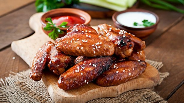 Crispy Orange Chicken Wings