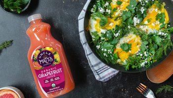 Egg & Spinach Sauté with Fresh Herbs