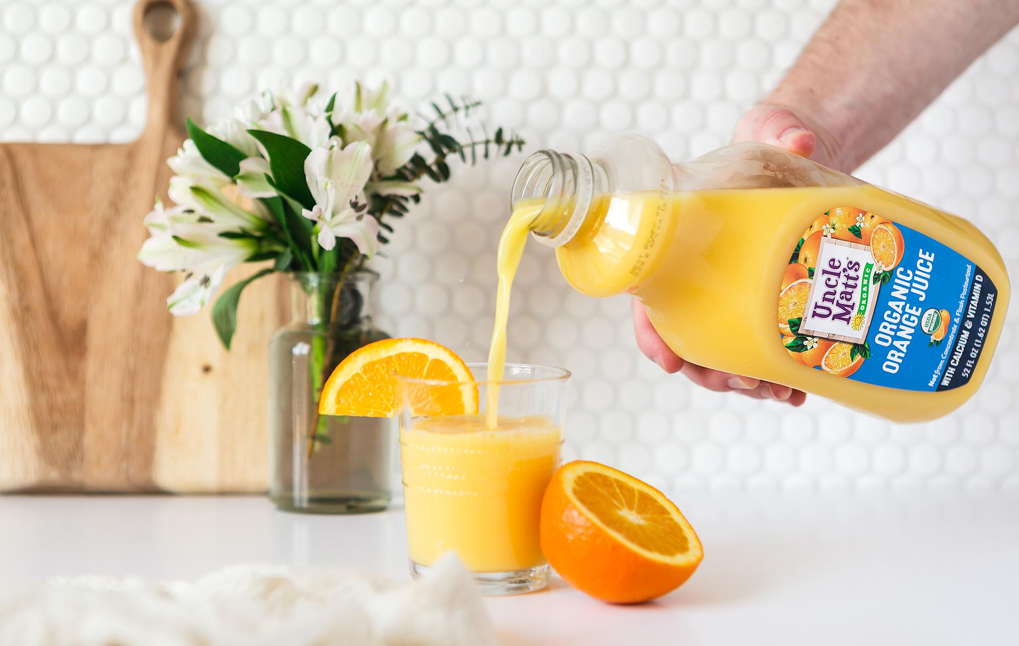 Uncle Matt's Organic Calcium Orange Juice