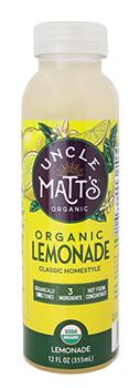 Uncle Matt's 12 oz Homestyle Lemonade