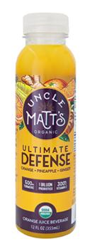 Uncle Matt's Organic 12 oz Orange Defense