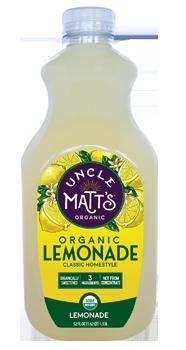 Uncle Matt's Organic Lemonade