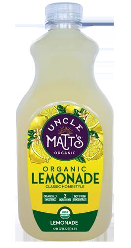 Uncle Matt's Organic Homestyle Lemonade