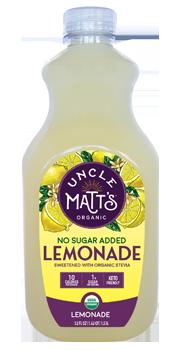 Uncle Matt's Organic No Sugar Added Lemonade