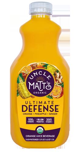 Uncle Matt's Organic Ultimate Defense with Probiotics & Turmeric