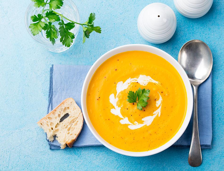 Organic Turmeric & Carrot Soup